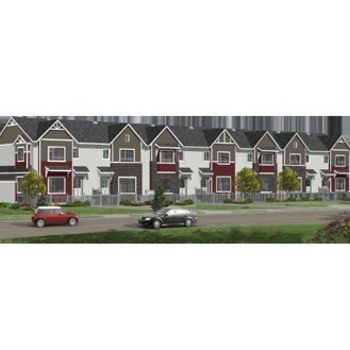 Large square big townhomes