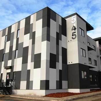 Large square kensington flats exterior saskatoon