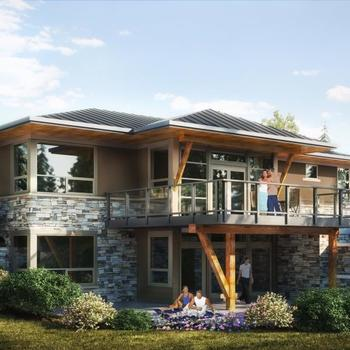 Large square villas at watermark new home listing service