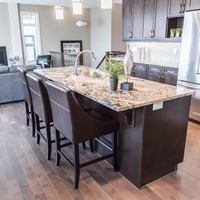 Medium 102830559480935 monet   gallery at larch park   kitchen island with eating ledge for additional seating