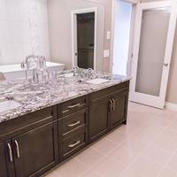 Medium 582503532990813 monet   gallery at larch park   master ensuite bathroom two undermount sinks set in quartz counter