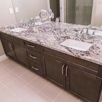 Medium 6850977428257 monet   gallery at larch park   master ensuite bathroom with quartz counters and solid maple cabinetry