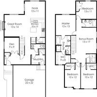 Medium joshua floorplans