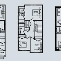 Medium gally floorplan