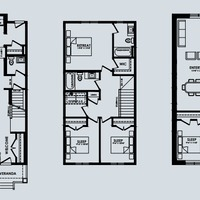 Medium arc floorplan