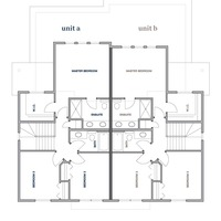 Medium sidney second floorplan