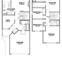 Medium endeavor floorplan