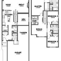 Medium aspect floorplan