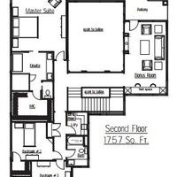 Medium kingston second floorplan