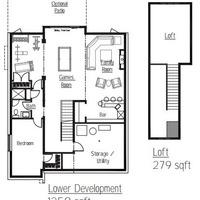 Medium pinehurst lower floorplan