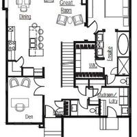 Medium pinehurst main floorplan