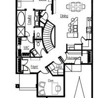 Medium augusta main floorplan