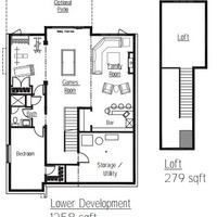 Medium pinehurst lower development floorplan