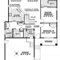 Medium brentwood main floorplan