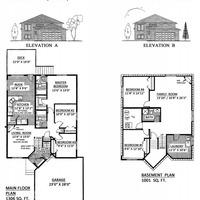 Medium laurentian floorplan