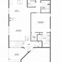 Medium blue jay main floorplan