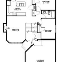Medium osprey main floorplan