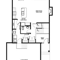 Medium kingfisher main floorplan