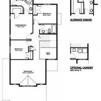 Medium kingfisher second floorplan