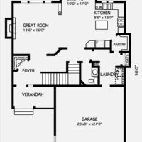 Medium nuthatch main floorplan
