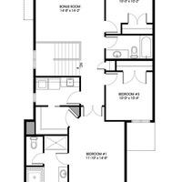 Medium merlin ii upper floorplan