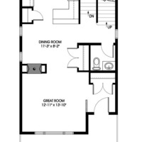 Medium dove main floorplan