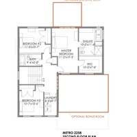 Medium the metro second floorplan