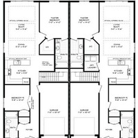 Medium semi detached floorplan