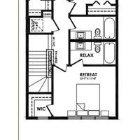 Medium peleyo second floor plan