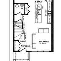 Medium peleyo main floor plan