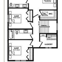 Medium kea second floor plan
