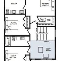 Medium extended second floor loft