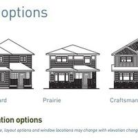 Medium kea elevation options