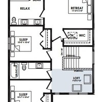 Medium second floor loft option