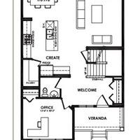Medium kea main floor plan