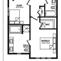 Medium caesar second floor plan