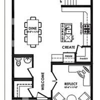 Medium caesar main floor plan