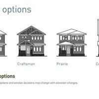 Medium caesar elevation options
