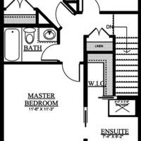 Medium cairo upper floor plan