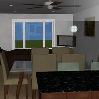 Medium the lazuli dining room 3d