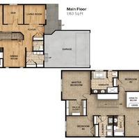 Medium yellow park floor plan