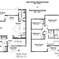 Medium view floor plan