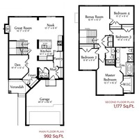 Medium alexandra ii floor plan