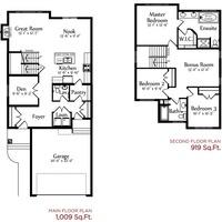 Medium rosaria floor plan