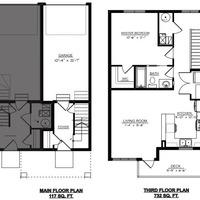 Medium astor floor plan