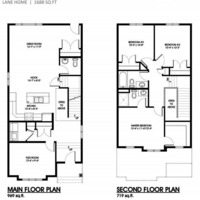 Medium lark floor plan