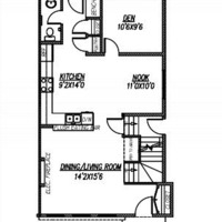 Medium marque ii main floor plan