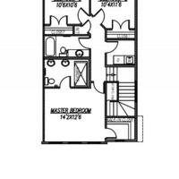 Medium marque ii upper floor plan