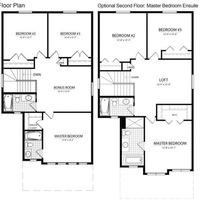 Medium floor plan 1