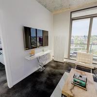 Medium bedroom living